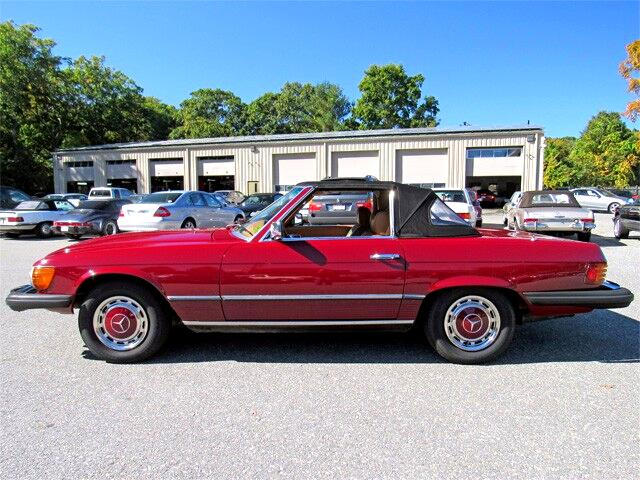 Used 1977 mercedes benz 450sl roadster for sale in waltham for Used 450sl mercedes benz sale