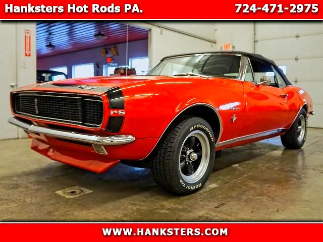 1967 Chevrolet Camaro Convertible RS SS Style