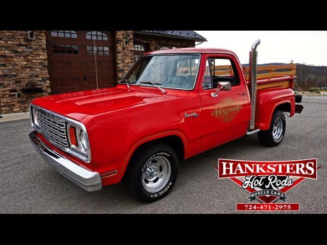 1978 Dodge Lil Red Truck Express Adventurer 150