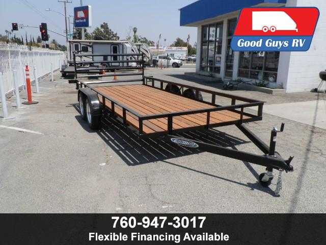 2017 Zieman Trailer 8 FT X 16 FT X 1 FT RAMP GATE