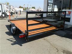 2017 Zieman Wood Bed Trailer