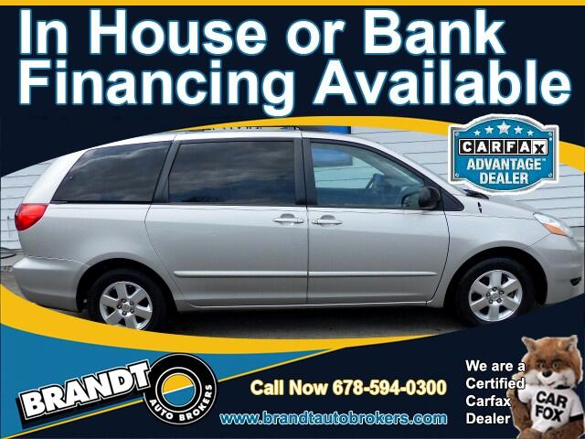 2007 Toyota Sienna LE FWD 8-Passenger Seating