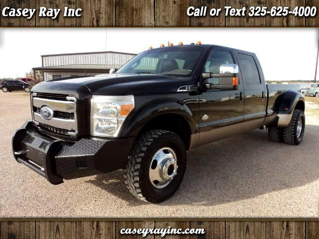 2011 Ford F-350 SD King Ranch Crew Cab Long Bed DRW 4WD