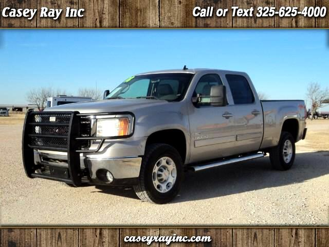 2008 GMC Sierra 2500HD SLT Crew Cab Short Bed 4WD