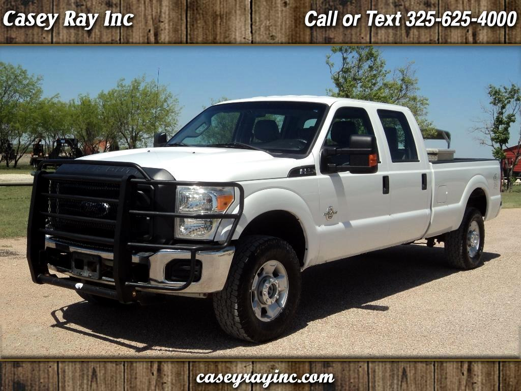 2014 Ford Super Duty F-250 SRW XL 4WD Crew Cab 8' Box