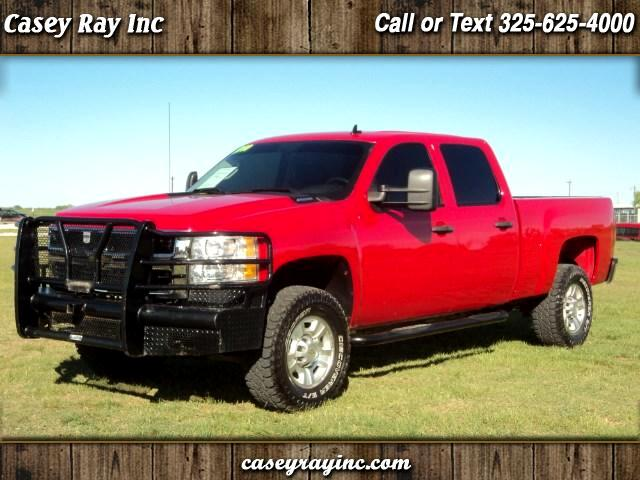 2010 Chevrolet Silverado 2500HD Crew Cab Short Bed 4WD