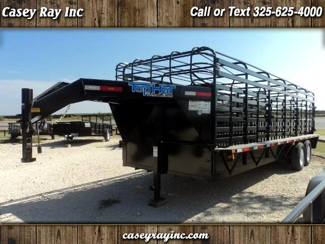 2017 Top Hat Utility Brahma 24' Cattle
