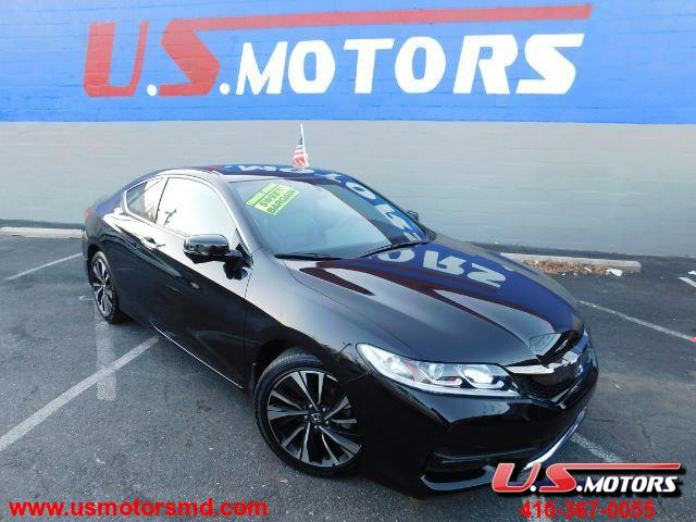 2016 Honda Accord EX-L Coupe CVT