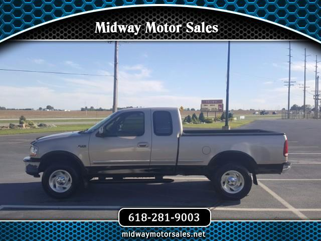 "1997 Ford F-150 4WD SuperCab 145"" Lariat"