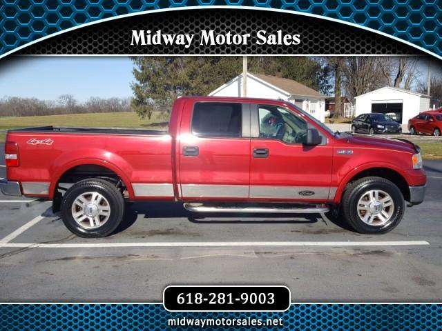 "2007 Ford F-150 4WD SuperCrew 150"" Lariat"