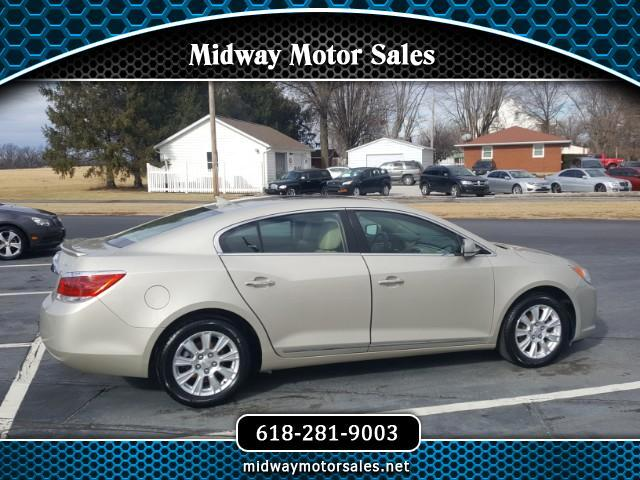 2013 Buick LaCrosse 4DR SDN LEATHER FWD HYBRID