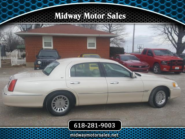 2000 Lincoln TOWN CAR C CARTIER