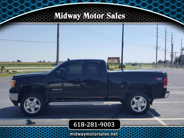 2013 GMC Sierra 2500HD SLT Ext. Cab Std. Box 4WD