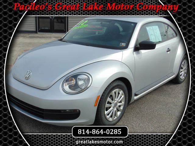 2012 Volkswagen Beetle Entry PZEV