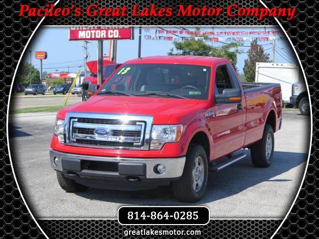 2013 Ford F-150 Reg. Cab Long Bed 4WD