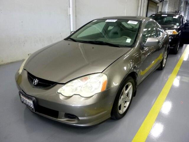 2004 Acura RSX Coupe with 5-speed AT and Leather