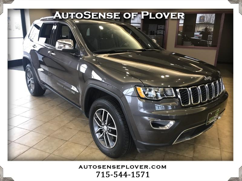Pre Owned 2017 Jeep Grand Cherokee Limited 4x4 Suv For Sale In