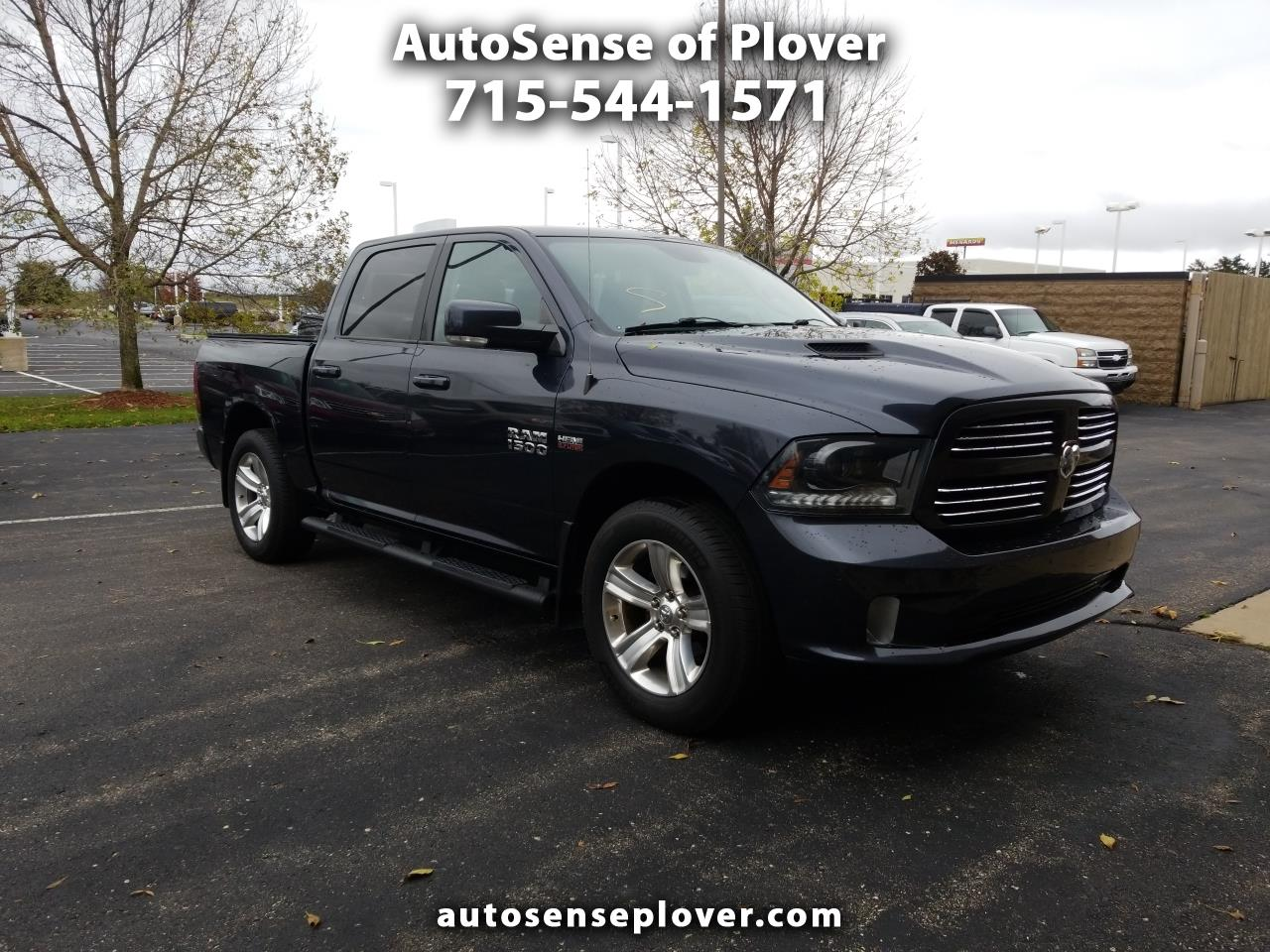 Pre-Owned 2015 RAM 1500 4WD Crew Cab 140.5 in Sport
