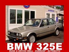 1987 BMW 325e