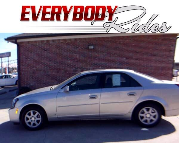 2007 Cadillac CTS Visit Everybody Rides 2 online at wwweverybodyrides1com to see more pictures of