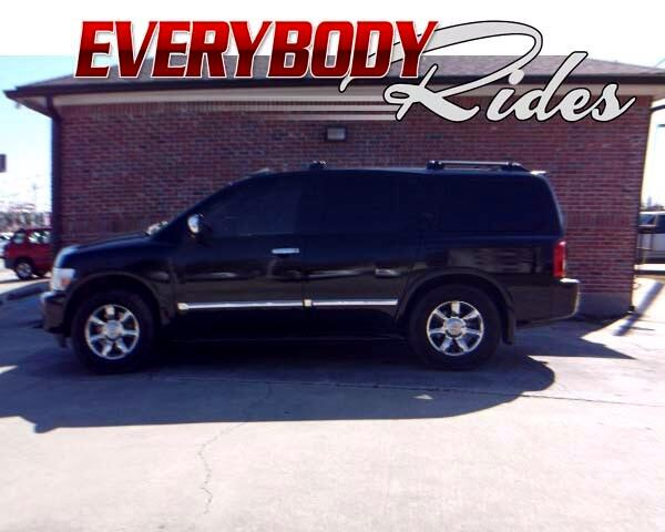 2006 Infiniti QX56 Visit Everybody Rides 2 online at wwweverybodyrides1com to see more pictures o