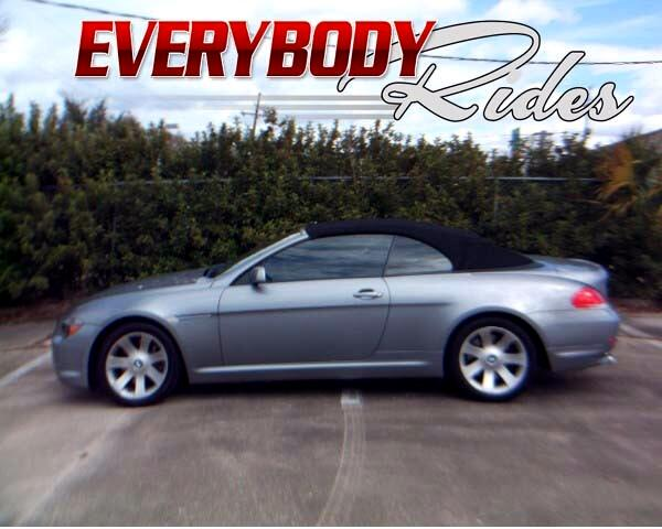 2007 BMW 6-Series 650i Convertible