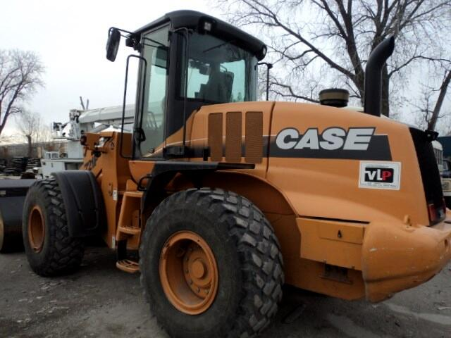 2011 Case Industrial 721F Wheel Loader