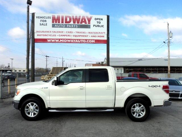 used 2009 ford f 150 lariat supercrew 4wd for sale in kansas city mo 64120 midway auto. Black Bedroom Furniture Sets. Home Design Ideas