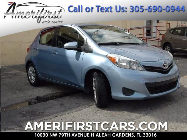 2014 Toyota Yaris  WE FINANCE EVERYONE  NO ACCIDENTS  FREE CLEAN CARFAX  LIKE NEW  N