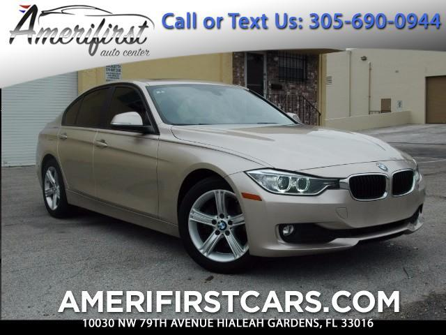 2013 BMW 3-Series  WE FINANCE EVERYONE  ONE OWNER  HAS FULL FACTORY WARRANTY FREE CLEA