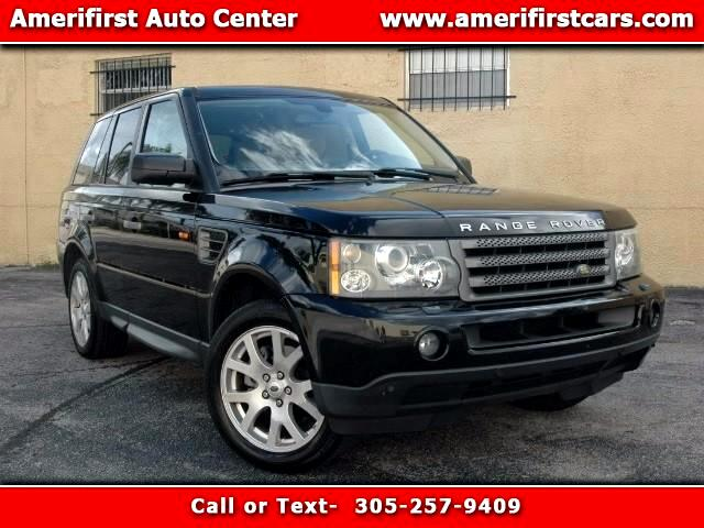 2008 Land Rover Range Rover Sport  WE FINANCE EVERYONE  LIKE NEW  NO ISSUES  FREE CLEAN