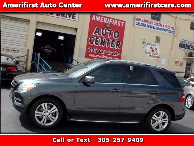 2013 Mercedes M-Class  WE FINANCE EVERYONE  ONE OWNER  LOADED WITH ALL OPTIONS  NAVIGAT