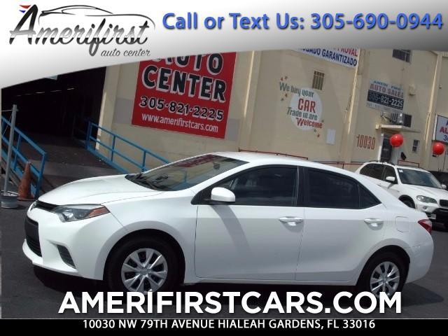 2016 Toyota Corolla  WE FINANCE EVERYONE  ONE OWNER  CLEAN CARFAX  NO ISSUES  NO ACC
