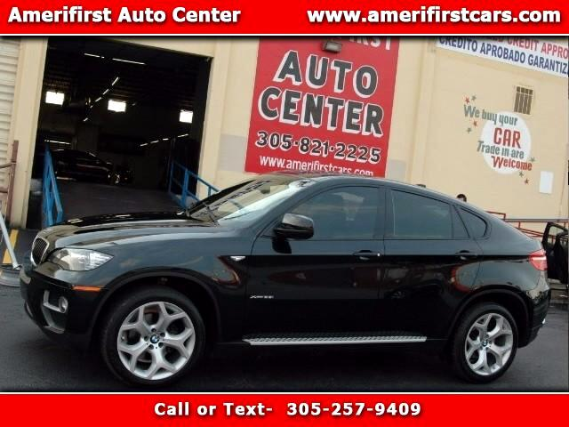 2013 BMW X6  WE FINANCE EVERYONE  LIKE NEW  BLACK ON BLACK  NO ISSUES  SAVE WITH AMERI
