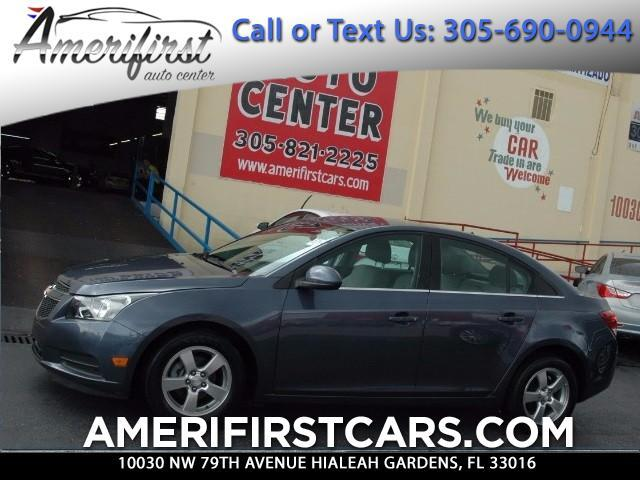 2014 Chevrolet Cruze  WE FINANCE EVERYONE  LIKE NEW  NO ISSUES  JUST SERVICED  A MUST