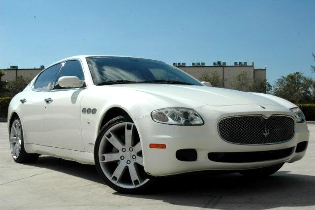 2007 Maserati Quattroporte WWWAMERIFIRSTCARSCOMAUCTION PRICESBLOW OUT LIQUIDATION SALEWHOLES