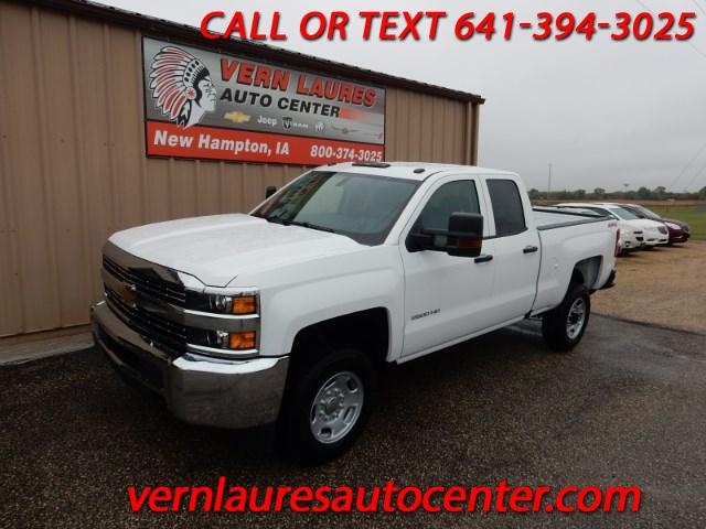 2018 Chevrolet Silverado 2500HD Work Truck Double Cab Long Box 4WD