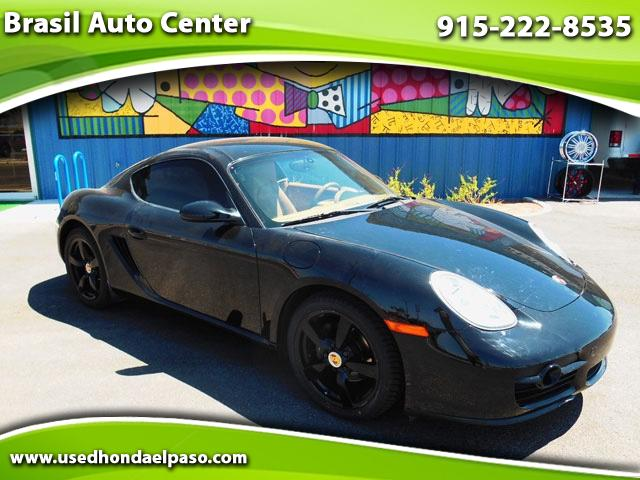 2008 Porsche Cayman Base Manual