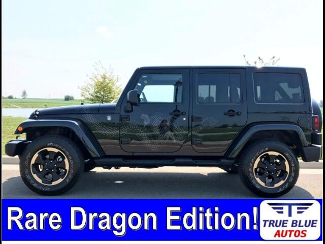 2014 Jeep Wrangler Unlimited Dragon Edition *Ltd Avail*