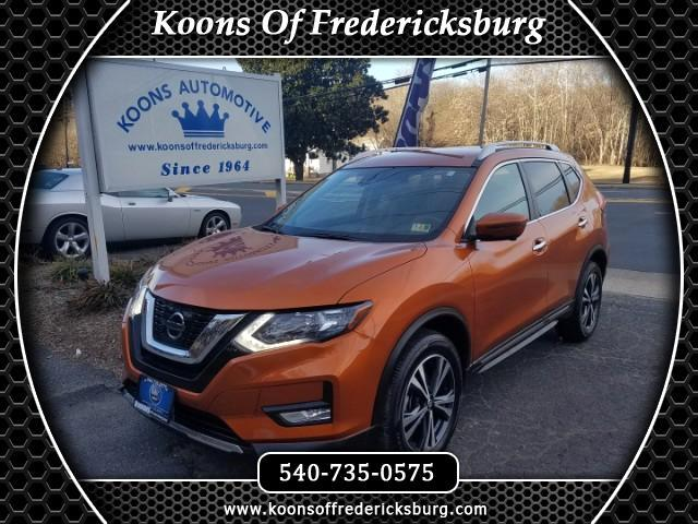 2017 Nissan Rogue AWD 4dr SL