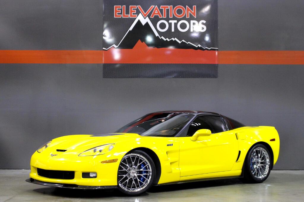 2010 Chevrolet Corvette ZR1 3ZR