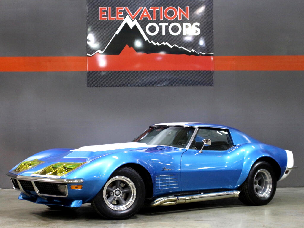 1971 Chevrolet Corvette Lemans Tribute