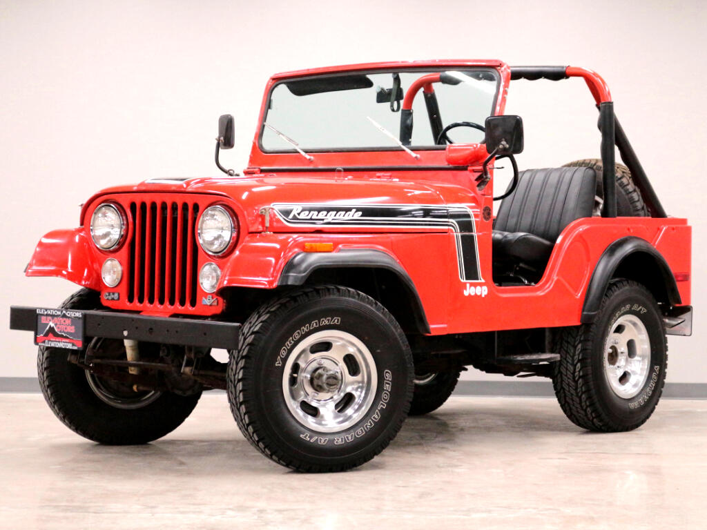 1974 Jeep CJ-5 Renegade