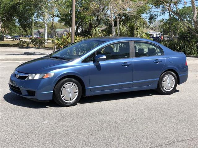 2009 Honda Civic Hybrid CVT AT-PZEV with Leather