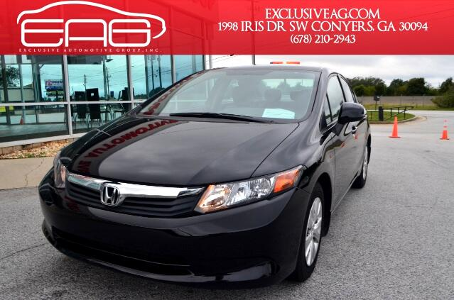 2012 Honda Civic Visit Exclusive Automotive Group online at exclusiveagcom to see more pictures of