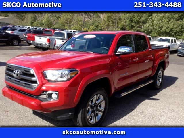 2016 Toyota Tacoma Limited Double Cab V6 6AT 2WD