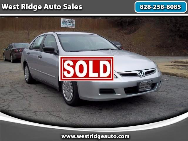 2006 Honda Accord VP Sedan AT