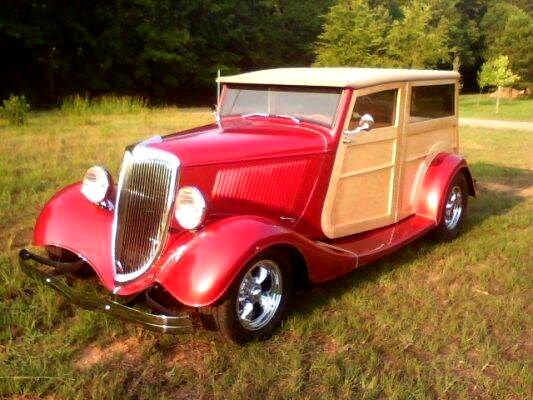 1934 Ford Woodie Wagon