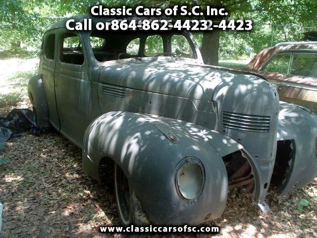 1939 Dodge Sedan 4-Door