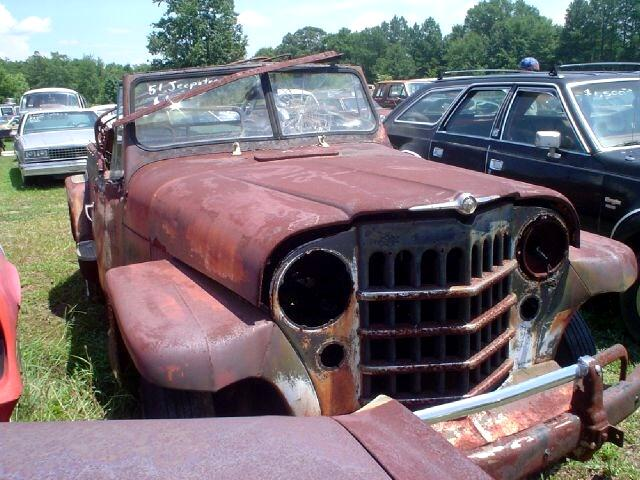1951 Willys Jeep  Jeepster Phaeton